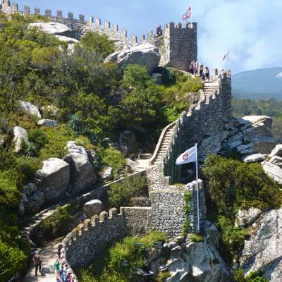 castelo dos mouros moors castle sintra