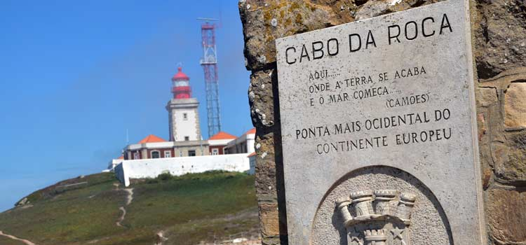 Cabo da Roca and lighthouse